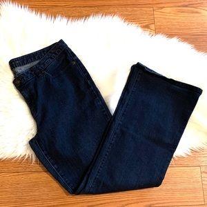 Michael Kors dark wash bootcut 5 pocket Jeans sz12